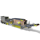 Portable Heavy-Duty Horizontal Screening Plants